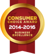 Consumer Choice Award 2014 GTA
